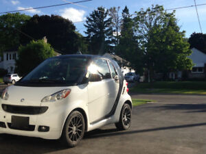 Smart Fortwo White Coupe (2 door)