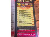 Saffron Indian Takeaway /10% Discount on collection