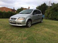 Chevrolet Kalos – Low insurance – Not fiesta / polo / corsa / i10 / micra / yaris / fabia