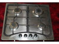 Gas cooker hob