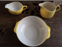 60s Yellow pottery