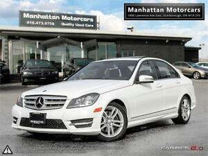 2013 MERCEDES BENZ C300 4MATIC |NAV|BLUETOOTH|58,000KM
