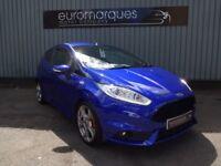 Ford Fiesta 1.6T ECOBOOST ST-2 Turbo (blue) 2013