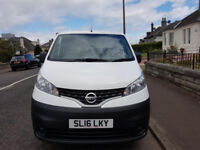 White Nissan NV200 1.5 dCI Acenta, 1 Owner, Full History, Low Mileage, No VAT