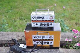 Orange Micro terror amp head, new condition boxed