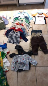 18 month boys clothing lot