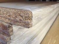 White Laminate Kitchen Worktop - Brand New 10 foot long