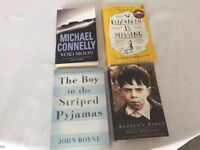 Job lot of 4 Great Books - only 50p Each!
