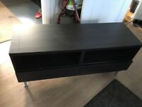 TV table dark brown great condition