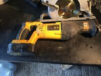 18v dewalt tools for sale job lot