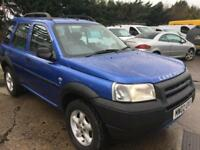 2002 LAND ROVER FREELANDER 2.0 Td4 S Station Wagon