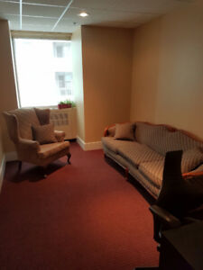 Psychotherapy Office in Downtown Toronto Medical Building