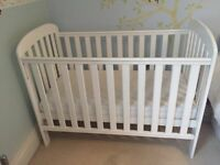 Excellent East Coast White Pine baby cot