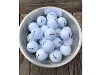 Golf Balls Srixon x 30 Pearl/A Grade, AD333, Tri Speed, Distance, Lot 13