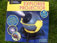 (Never Used) National Geographic Explorer Projector - sealed in original box (Reduced Asking Price)