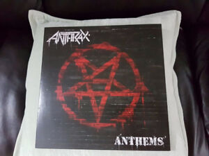 ANTHRAX ANTHEMS MARBLE EFFECT VINYL ! BRAND NEW !