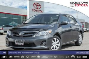 2013 Toyota Corolla Low kilometer CE 5sp with power pkg