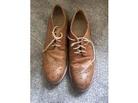 Men's brown Burton formal shoes size 9