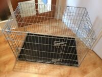 Dog or puppy crate (Medium - H61 x L91 x W57cm)