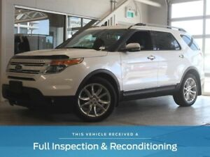 2012 Ford Explorer Limited-Moon Roof-Navigation-Power Folding Th