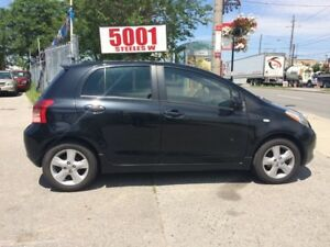 2007 Toyota Yaris RS,4DR,H/B,151K,SAFETY+3YEARS WARRANTY INCLUDE
