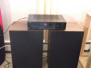 """sony amp and upgraded lxi spkrs  w/12""""woofers"""