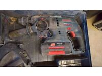 Bosch cordless drill boxed