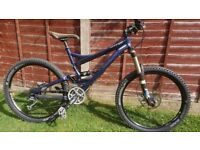 Specialized Enduro Expert with upgrades