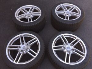 "Porsche 911 991 Carrera V wheels and winter tires 19"" TPMS"