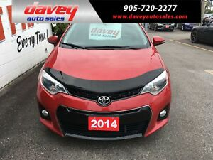 2014 Toyota Corolla S *BACK UP CAMERA, POWER SUNROOF, HEATED...