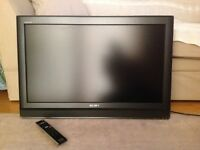 "Sony Bravia 32"" Black TV - Model No. KDL-32U3000."