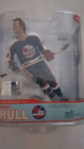 Mc Farlane figure Bobby Hull in jets uniform series 5 legends