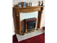 Electric Fire and Mantle Surround