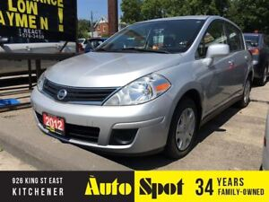 2012 Nissan Versa 1.8 S/LOW,LOW KMS/PRICED FOR A QUICK SALE !