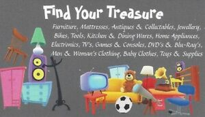 Hidden Treasures Warehouse Sale This Weekend