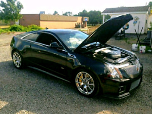 2012 Cadillac CTSV Coupe (Black diamond edition)