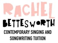 Contemporary Singing and Songwriting Lessons in London with Professional Vocalist Rachel