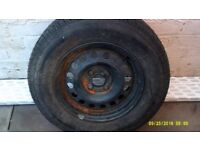 195/70 R14 TYRE NEW ON RIM NEVER USED