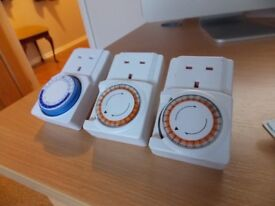 Electrical segment timers, unused [3 ]
