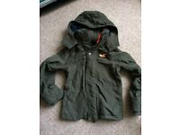 Hollister jacket (green). Size small