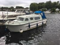 24ft Norman river cruiser boat