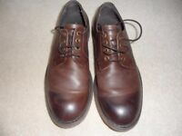MEN'S BROWN SHOES, SIZE 7. KURT GEIGER, MORTON LEATHER FORMAL. VERY GOOD CONDITION. £20