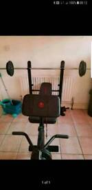 Marcy be1000 weights bench (no weights)