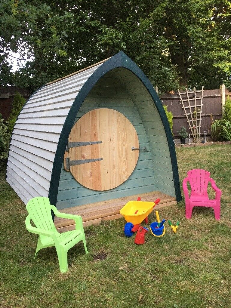 play house play pod garden shed