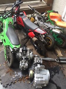 50cc bikes and parts