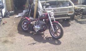 xs 400 custom built