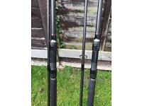 2 x Terry Hearn Mk1 Rods 3 1/4 TC -RARE