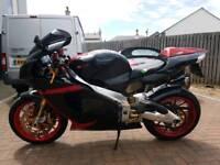 Aprilia rsv 1000 millie R braking all parts available 2001 Ohlins gilles Oz etc