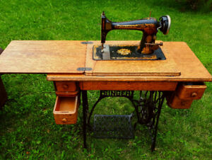 Vintage Antique Singer Sewing Machine