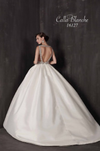 "SELLING :: Gorgeous Wedding Dress Calle Blanche 16127 ""Paulette"""